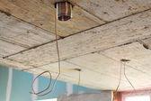 Repair ceiling construction — Stock Photo