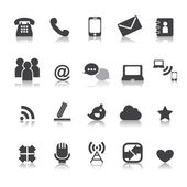 67-2Web communication icons  internet vector set — Stock Vector