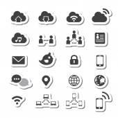 Internet icon set — Stock Vector
