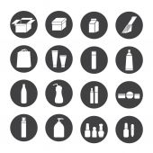 Packaging icons — Stock Vector