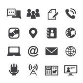 Media and communication icons  — Stock Vector