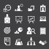 Organization and business management icon set — Vecteur
