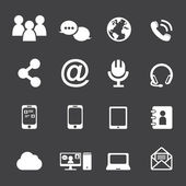 Communication Icons — Stock Vector