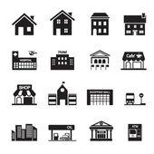Building icon — Stock Vector