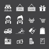 309 shopping icon — Stock Vector