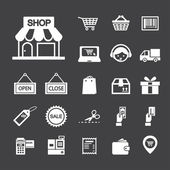 Shopping icon — Wektor stockowy