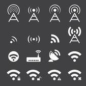 Wireless icon — Stock Vector
