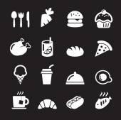 Ikona jedzenie — Wektor stockowy