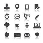 Internet icon — Stock Vector