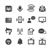 Web communication icon — Stock Vector