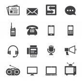 Communication icon — Stock Vector