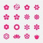 Flower icon — Stock Vector #60410115