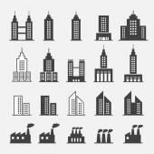 Edificio icono — Vector de stock