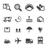 Shipping icon — Stock Vector