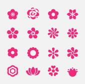 Flower icon — Stockvector