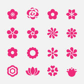 Flower icon — Vector de stock