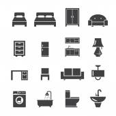 Furniture icon — Stock Vector