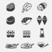 Sushi icon — Stock Vector