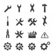 Tool icon set — Stock Vector