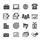 Business and office icon — Stock Vector