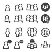 People icon — Stock Vector