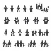 People and family icon — Stock Vector