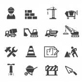 Construction icon — Stock Vector