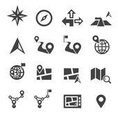 Icona di navigazione — Vettoriale Stock