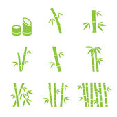 Bamboo icon — Stock Vector
