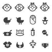 Baby icon — Stock Vector