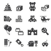 Toy icon — Vetor de Stock