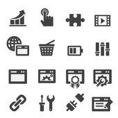 Seo icon — Stock Vector