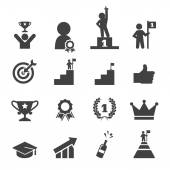 Success icon set — Stock Vector