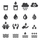 Water pictogrammenset — Stockvector