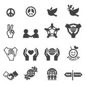 Peace Icons — Stock Vector