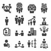 Human resources icon — Stock Vector