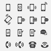 Phone icon — Stock Vector