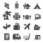 Travel icon — Stock Vector