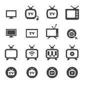 Tv icon — Stock Vector