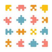 Jigsaw icon — Stock Vector