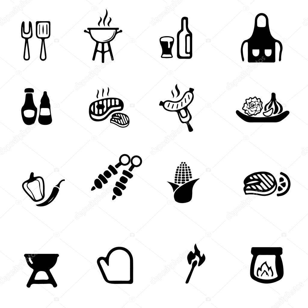 grill grill gelb silhouette symbole stockvektor zaozaa 55963945. Black Bedroom Furniture Sets. Home Design Ideas