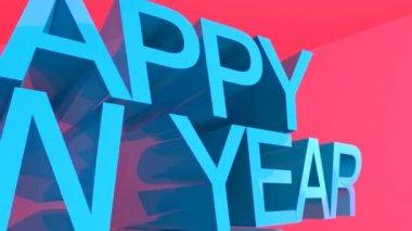 Happy New Year 2015 — Stock Video