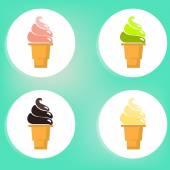 Ice Cream Cone — Stock Photo
