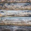 Wooden logs wall of rural house background — Stock Photo #76452333