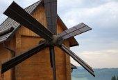 El molino de viento. — Foto de Stock
