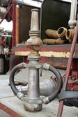 Old fire hoses  — Stock Photo