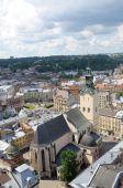 Panorama Lviv. — Stock Photo