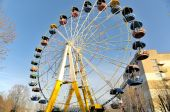Ancienne grande roue — Photo