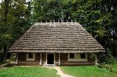 Old wooden hut — Stock Photo