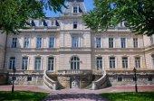 Potocki Palace in Lviv, Ukrainian. Currently - Lviv National Art — Stock Photo
